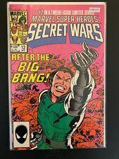 Marvel Super Heroes Secret Wars 12 Higher Grade Comic Book CL88-174
