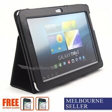 Premium Leather Flip Stand Case For Samsung Galaxy Tab 2 10.1 P5100 P5110+2SP