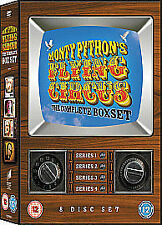 Monty Python's Flying Circus - Series 1-4 - Complete (DVD, 2008, 8-Disc Set,...