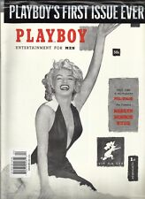 Playboy Magazine 1st Issue Marilyn Monroe Dec 1953 Reprint