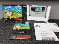 Kirby's Ghost Trap SNES Super Nintendo + OVP + Anleitung, rar, Top