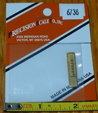 Precision Scale N #6736 Stack, Exhaust, M-1000 Includes (Brass Casting)