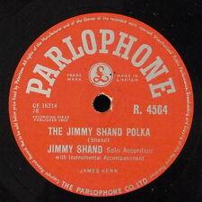 78rpm JIMMY SHAND jimmy shand polka / quarry knowe waltz R 4564