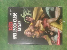 DUNGEONS AND DRAGONS SPELLBOOK CARDS ARCANE - NEW