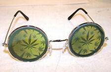HOLOGRAPHIC MULTIPLE POT LEAF SUNGLASSES hologram 3-D  glasses trippy LEGALIZE