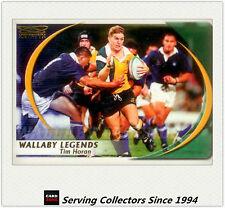 2003 Kryptyx Rugby Union Trading Cards Wallabie Legends WL3: Tim Horan