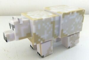 Minecraft Mojang Polar Bear Action Toy - EXCELLENT CONDITION