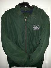 Otto Nemenz Vintage Jacket Green w/ blue fleece linging Camera & HOLLYWOOD Logo