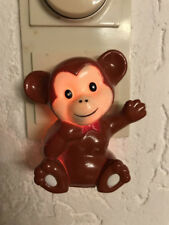 Baby Nachtlicht Affe Kunststoff Schlummerlicht