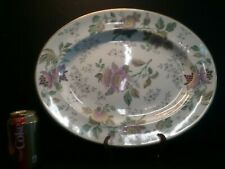 "Wedgwood Avon W3983 Multi Color Floral 17"" Large Oval Platter"
