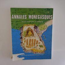 Annales monégasques Revue histoire Monaco N°8 Publication Palais Princier 1984