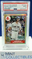 Andrew Benintendi 2017 Topps Chrome 1987 Insert Rookie RC PSA 9 MINT Red Sox
