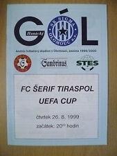 1999 UEFA CUP Qualifying Round- SK SIGMA OLOMOUC v SHERIFF@Andrůvl stadium