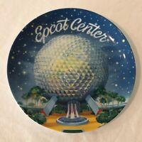 Walt Disney World Epcot Center Vintage 1982 Spaceship Earth Decorative Plate