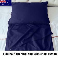 Portable Single Sleep Sack Inner Sheet Sleeping Bag Liner Camping Hiking Travel