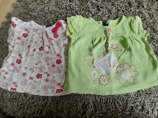 Baby girl t-shirts 0-3 months