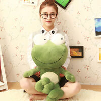 70cm Giant Large Big Frog Stuffed Animals Plush Soft Doll Pillow 1x Birthday Toy