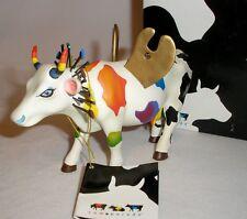 2003 ATLANTA - COW PARADE - MYTHIC ART COW GODDESS FIGURINE - MINT IN BOX #7292