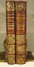 Scotland Illustrated in a Series of Views Allom, Bartlett 118 engravings 1838