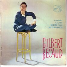 GILBERT BECAUD FRENCH EP - L'ABSENT + 3