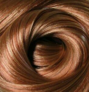 IRISH SPICE Auburn Saran Doll Hair for Custom Reroots