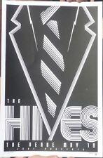THE HIVES ND 2008 SILKSCREEN GIG POSTER VERY LTD