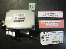 03 04 NISSAN MURANO AIR BAG MODULE OEM #31036-CB202/ETC21-207N A1 *See item*