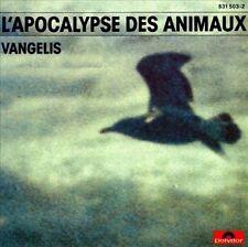 Vangelis OST CD L'Apocalypse Des Animaux 1973 Ambient