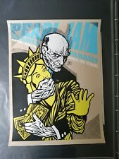 More details for pearl jam albany 2003 poster