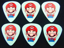 Super Mario Guitar Picks Lot of 10 .46 mm Free Tracking Thin New