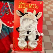 nuimos plush costume ox New year 2021 Shanghai Disneyland Disney