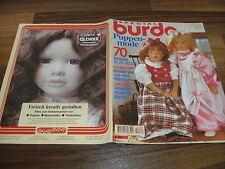BURDA SPECIAL E 284 -- Puppenmode 1994 // stylistes pour barbie-Contes Robes