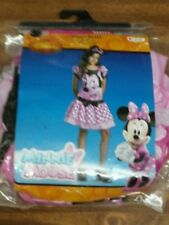 Disney Minnie Mouse Pink Girls Costume size 4-6 Halloween