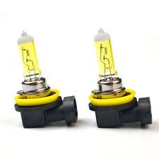 2x H11 Yellow Halogen Bulb 12V 55W 3000K Lamps Quartz Glass Car Auto Fog Light