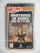jeu BROTHERS IN ARMS D-DAY sur sony PSP en francais game spiel juego gioco fps