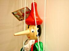 Pinocchio Marionette 48 cm Holz!    Holzfigur Holzmarionette   Neu