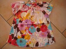 (140) NOLITA POCKET girls shirt tunica in A-forma con logo Glitter Stampa gr.116