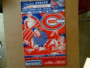 1948 Cincinnati Reds Official Score Book