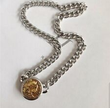 18k Gold Plated Silver Chain Coin Necklace Other Bloggers Stories Mango