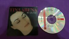 Tina Arena aller plus haut now I can dance press 99 France Card sleeve cd usato