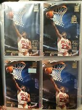 1993 Topps Stadium Club MICHAEL JORDAN 4 card SET- 1st day issue &  Members Only