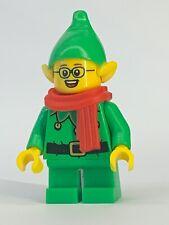 LEGO-Series 11 CMF-Holiday Elf-ORIGINALE minifigura piastra e accessori