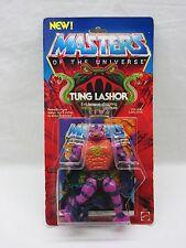 MOTU,VINTAGE,TUNG LASHOR,Masters of the Universe,MOC,carded,sealed,figure,He-Man