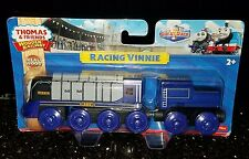 RACING VINNIE Thomas And Friends Tank train Engine Wooden Railway NEW IN BOX