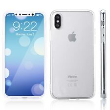 Clear Silicone Soft Crystal Soft TPU Case Cover For iPhone X 8 7 7Plus 6 6 Plus