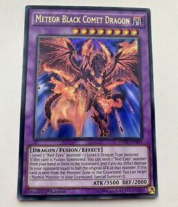 Yu-Gi-Oh! Meteor Black Comet Dragon INOV-EN041 Ultra Rare 1st Edition Nr Mint