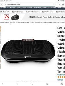 Best Choice Products Full Body Vibration Platform W/ Remote Control Fitness Exer