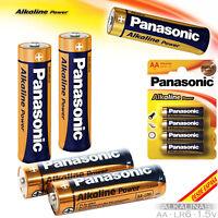 Batterien Alkaline Power Alkali Original Batterie Pack Panasonic Aa LR6 1.5V