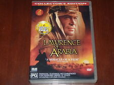 Lawrence Of Arabia - R4 DVD 2 Disc Collector's Edition Peter O'Toole David Lean