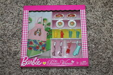 BARBIE PIONEER WOMAN REE DRUMMOND BBQ COOKING ACCESSORY SET BRAND NEW